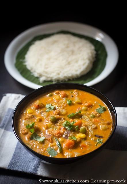 side dish for idiyappam