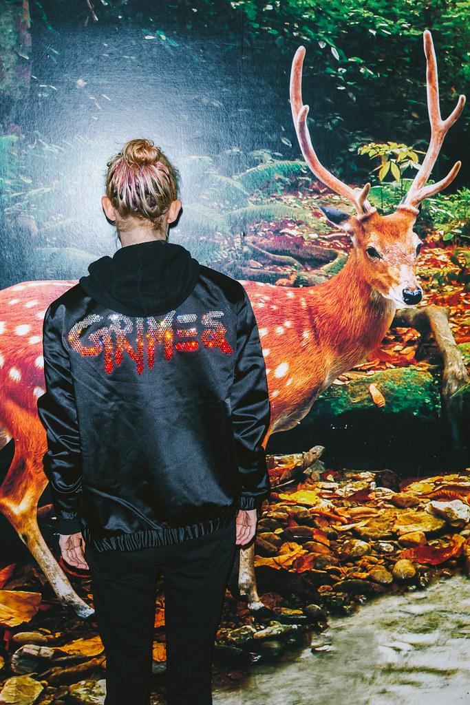 Граймс — Фотосессия для «Q» 2016 – 1