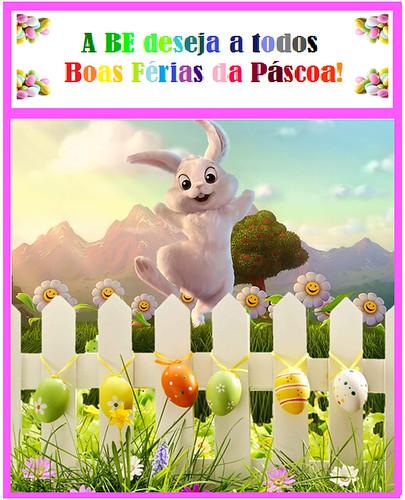 Boas férias de Páscoa