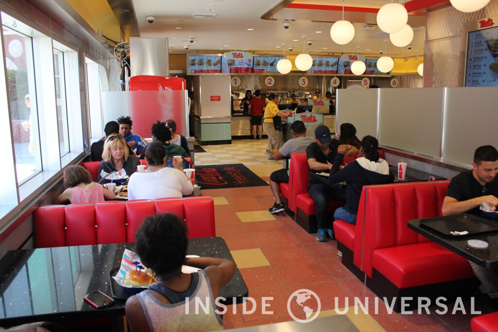 Mel's Diner reopens after lengthy refurbishment with a new interior