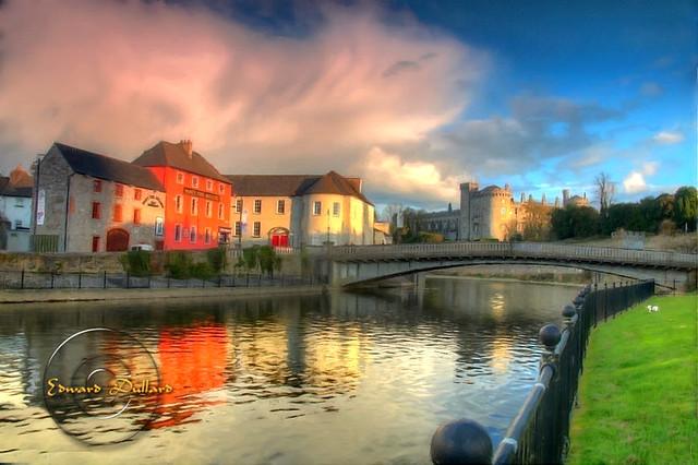Spring light in Kilkenny.