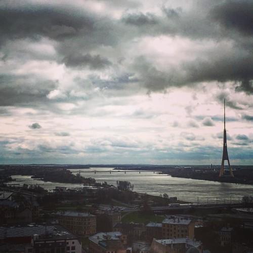 Parijs aan de Daugava... #rigasjeg