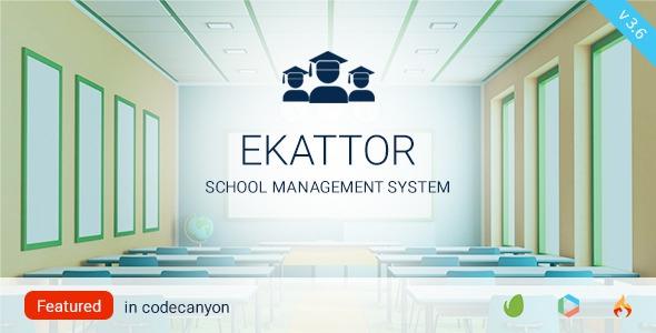 Ekattor School Management System Pro v3.6