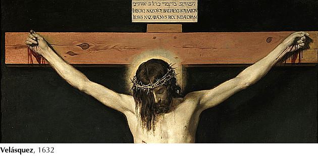 Velásquez, Cristo crucificado, 1632
