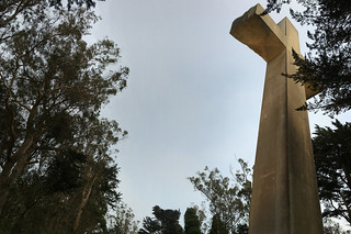 Mt. Davidson - Cross from the side