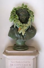 Sir John Cass and laurels