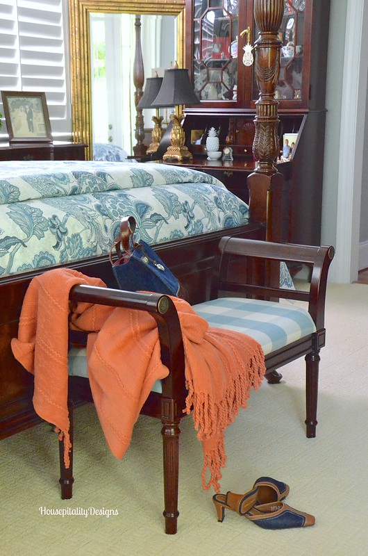 Master Bedroom Bench - Housepitality Designs