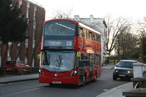 Tower Transit VH38116 on Route 328, Fortune Green