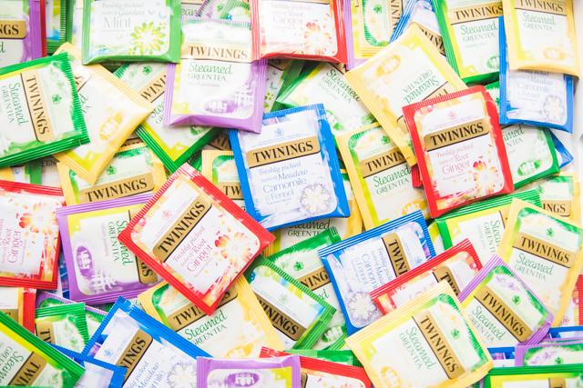 Twinings Freshly Picked Taste Tea Ranges
