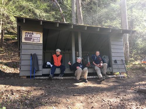 Bark Camp shelter