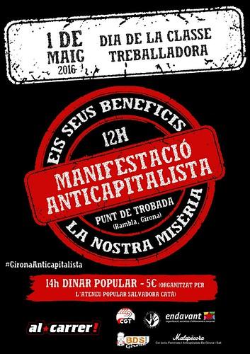 1r de Maig 2016 Girona