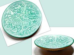 polymer clay Small Wedding Ring Dish