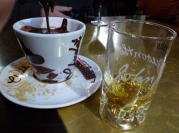 chocolat et whisky