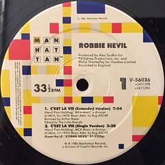 ROBBIE NEVILE:C'EST LA VIE(LABEL SIDE-A)