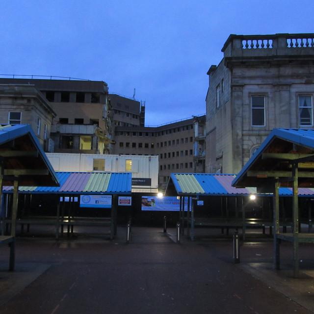 Ashton Market and demolished TAC