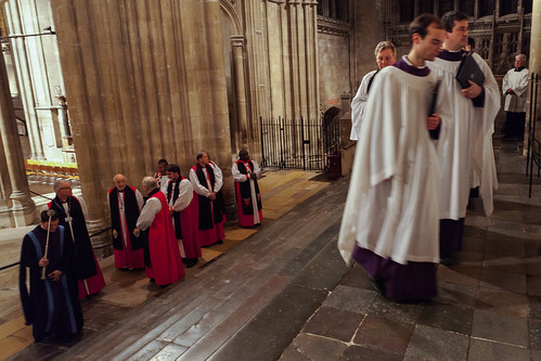 Primates Meeting Canterbury 2016 Evensong