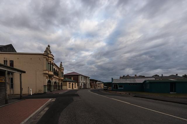 Main Street, Zeehan, Tasmania.