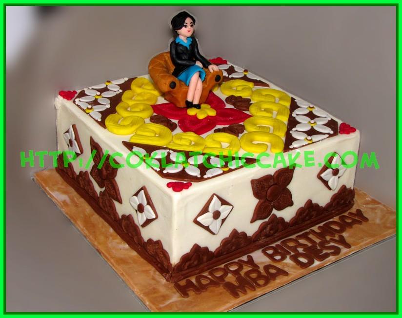 Cake Batik