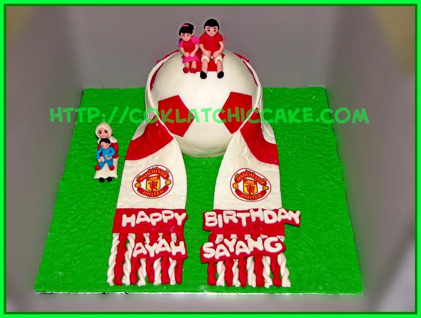 Cake Bola Manchester United