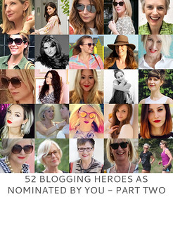 Blogging Heroes as Nominated by YOU - Part Two | Not Dressed As Lamb