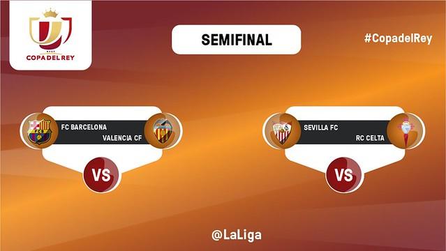Copa del Rey: Sorteo SemiFinales