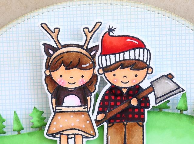 i'm quite fawned of you + lumberjack love winner!