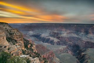 Rocky Cliff Sunset