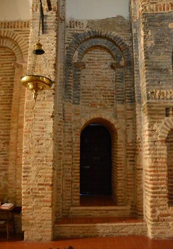 Aldeaseca de la Frontera. Iglesia de la Asunción. Interior. Detalle constructivo