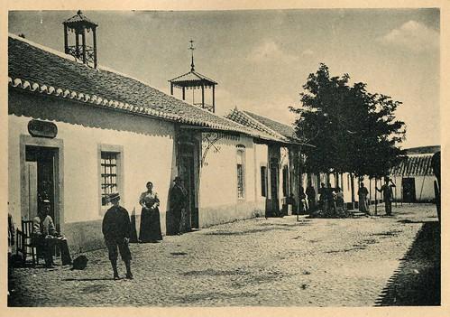 Hervideros de Fuensanta: entrada a Barrio Nuevo