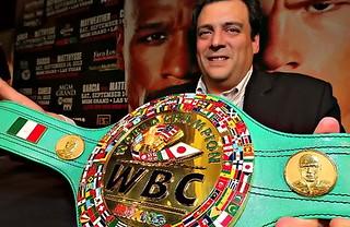 WBC feiert Präsident Mauricio Sulaiman