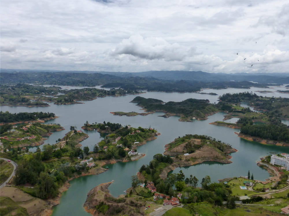 View from Rock of Guatapé