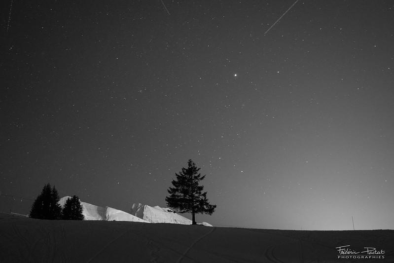 Ski de rando nocturne