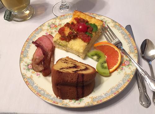 Ludington House breakfast