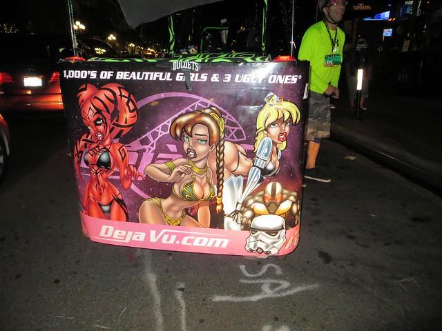 Pedicab Sci-Fi Ad