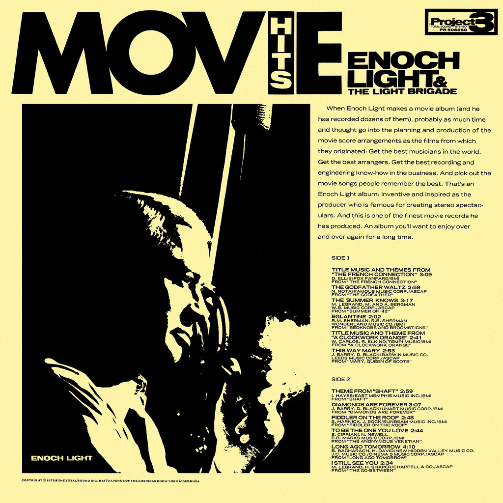 Enoch Light - Movie Hits