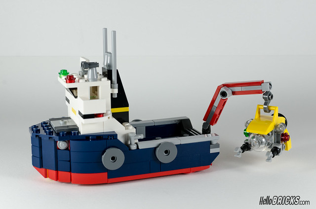 REVIEW LEGO 31045 Creator Ocean Explorer 17