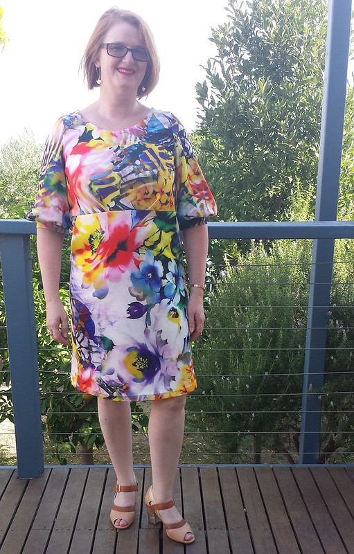 Bootstrap Fashion 44139 in Spotlight printed Scuba knit