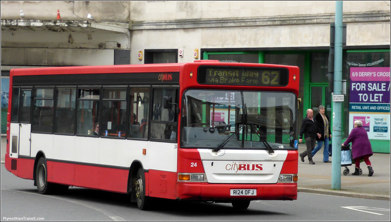 Plymouth Citybus 024 R124OFJ