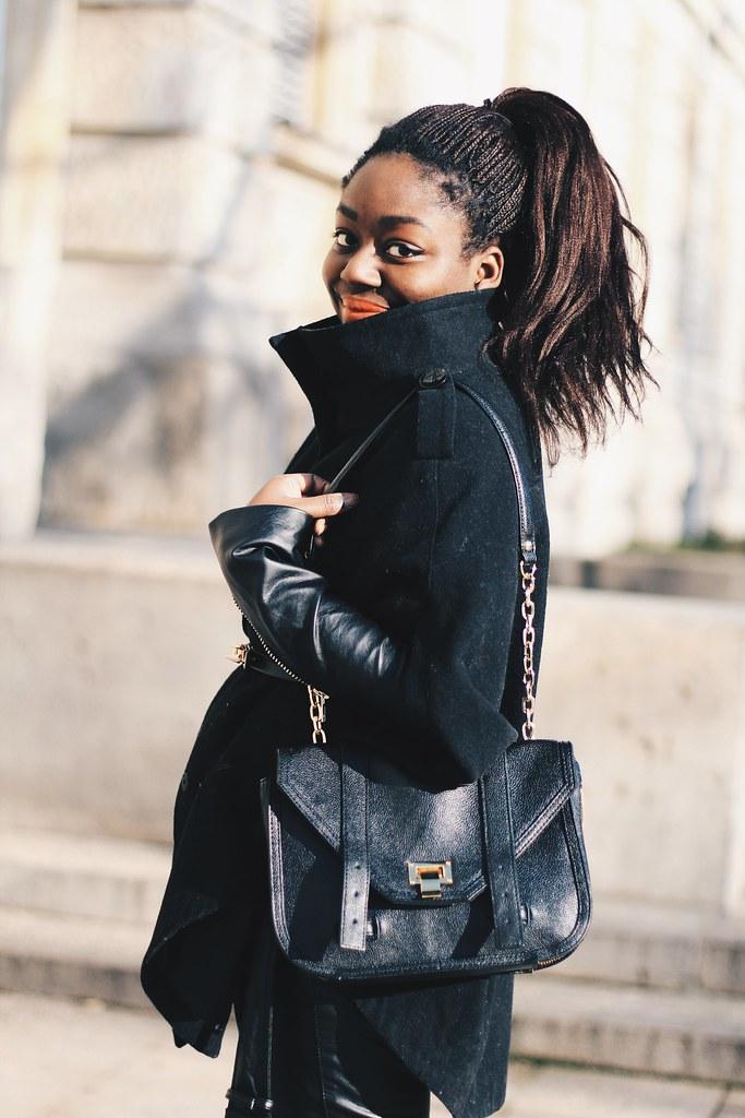 Black cape style Lois Opoku lisforlois