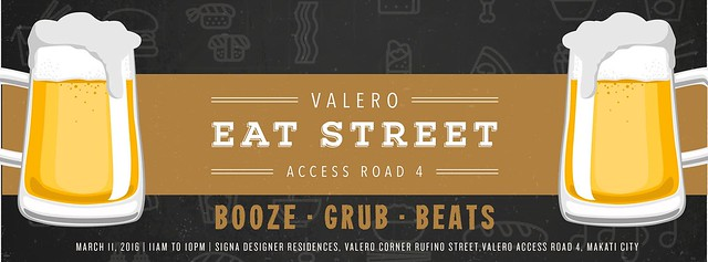 Weekenders Unite for more BOOZE. GRUB. BEATS at Valero Eat Street Part 2!