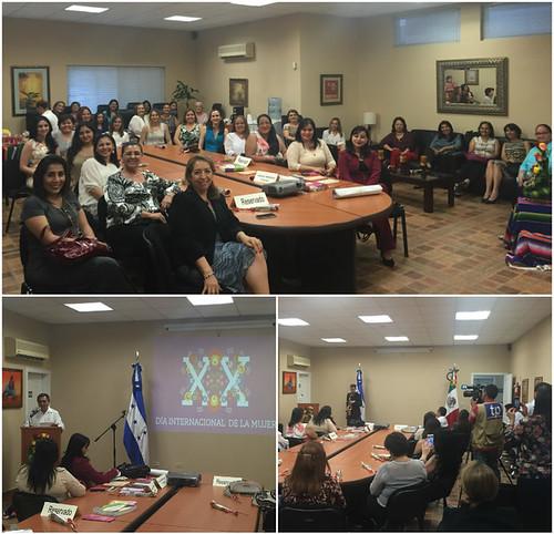 Consulado de México en San Pedro Sula celebra Día Internacional de la Mujer