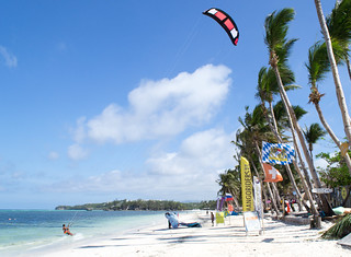 Изображение на Bulabog Beach близо до Malabonot. beach philippines kitesurfing boracay malay bananabay westernvisayas bulabogbeach mangoriders