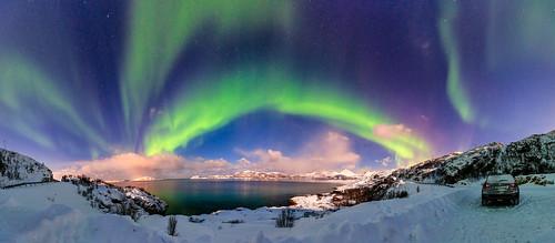 Northern Lights Panorámica