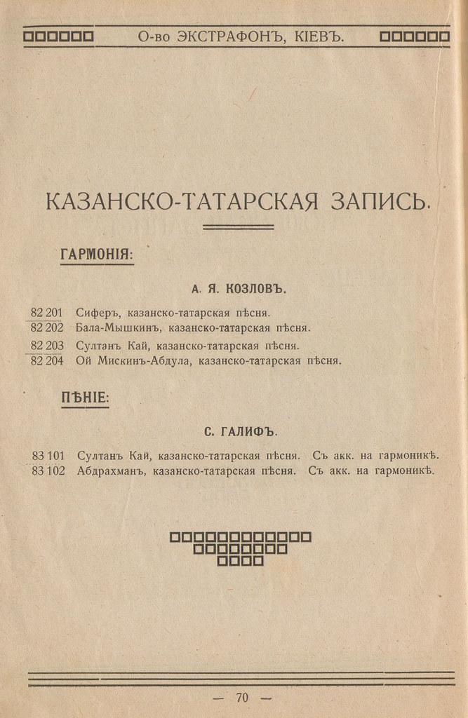 1914. Экстрафон. Каталог. Extraphone_Страница_71