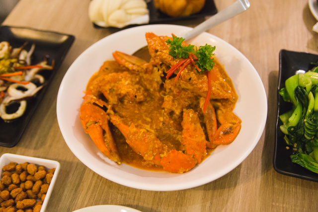Momma Kong's Chilli Crab Singapore