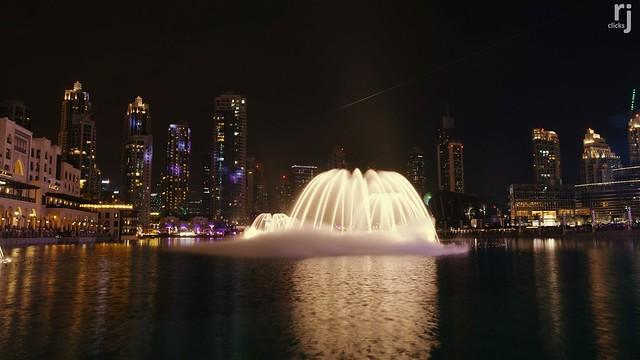 The Dancing Fountains, Dubai