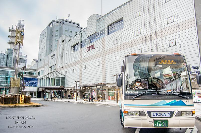 2016.Feb 山形巴士站 @山形, 日本