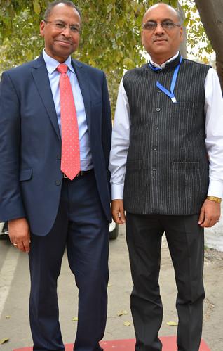 Jimmy Smith and Alok Jha
