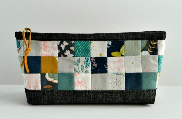 Nightfall Patchwork Pouch