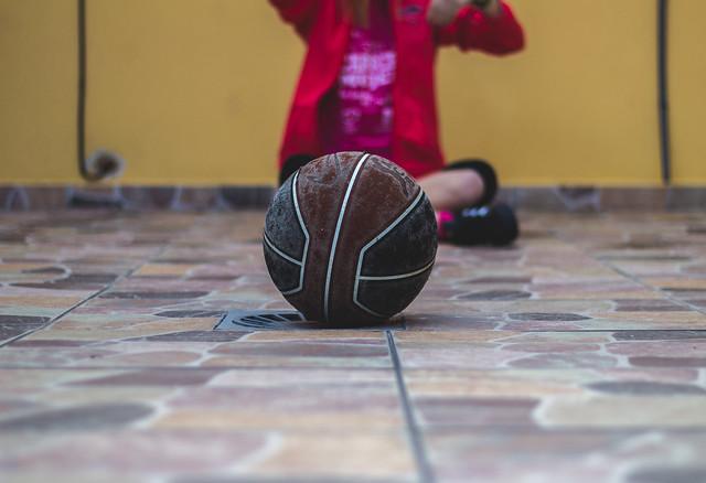 Basketball and my sister